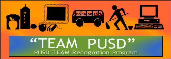 Team PUSD Employee Recognition