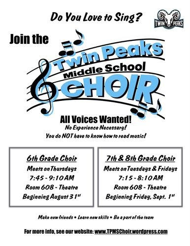 Choir Flyer
