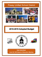 2018-2019 Adopted budget