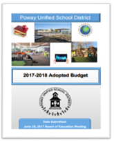 2017-2018 Adopted budget